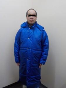 リヤカー要のジャケット